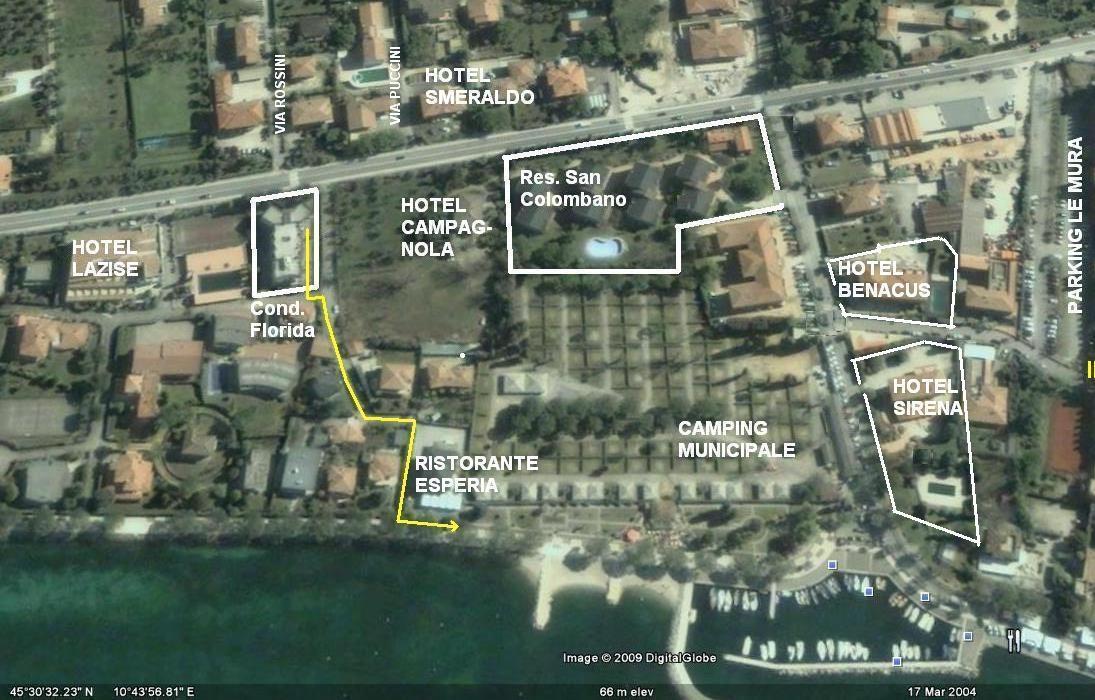 Hotel Benacus In Lazise Kleines Hotel Nahe Zentrum Und